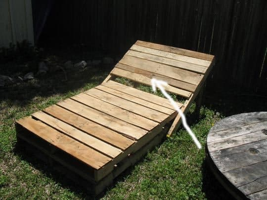 Diy: Pallet Lounge Chairs Lounges & Garden Sets
