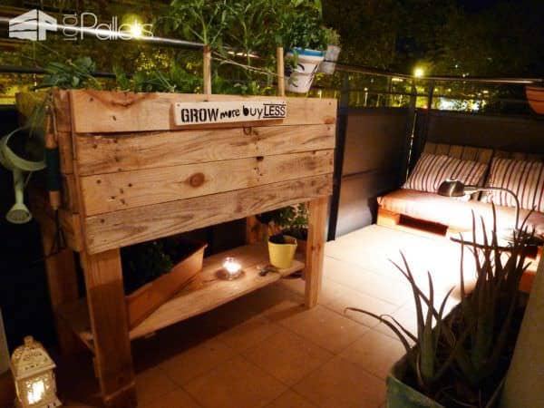 Diy: Urban Pallet Garden Pallet Planters & Compost Bins