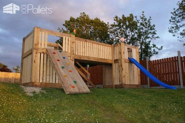 Pallets Playhouse Fun Pallet Crafts for Kids Pallet Sheds, Cabins, Huts & Playhouses