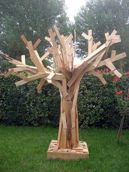 Pallets Tree Pallet Home Accessories