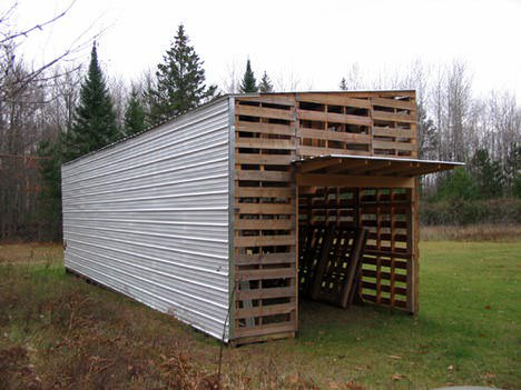Upcycled Pallet Barn Pallet Sheds, Cabins, Huts & Playhouses