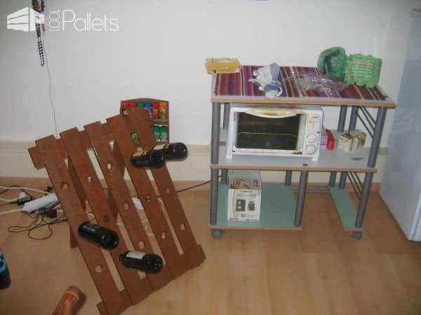 Your Own Pallet Wine Cellar Pallet Home Accessories