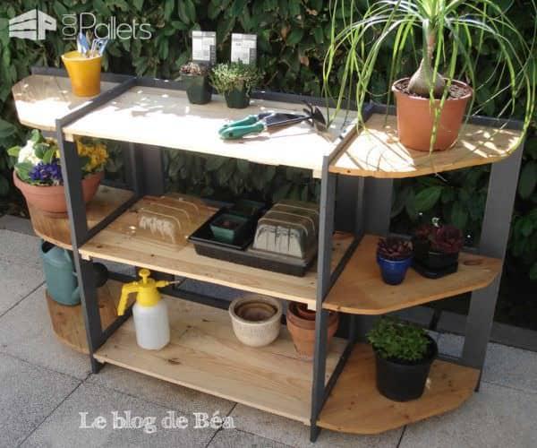Diy: Shelf Made of Reclaimed Pallet Wood Pallet Shelves & Pallet Coat Hangers