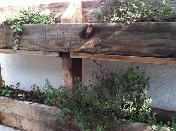 Hanging Pallet Garden Pallet Planters & Compost Bins