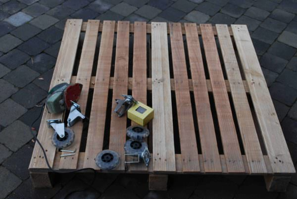Living Room Pallet Coffee Table Pallet Coffee Tables