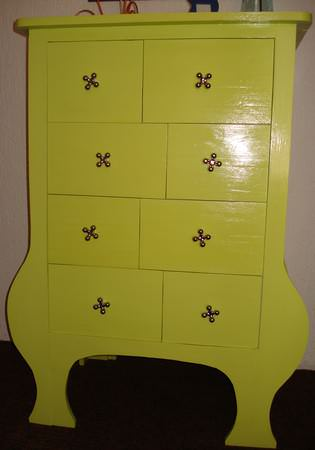 Pallet Chest of Drawers Pallet Cabinets & Wardrobes