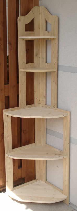 Pallet Corner Shelf Pallet Furniture