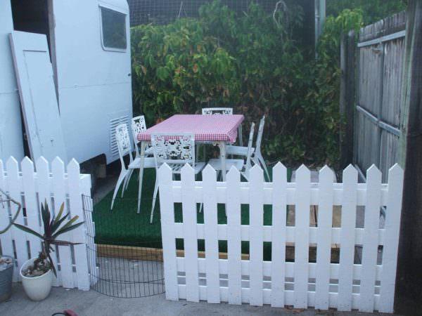 Pallets Picket Fence Pallet Fences