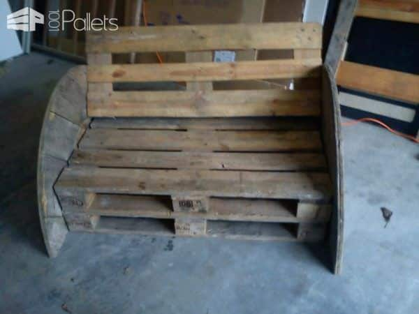Convertible Pallets Sofa Pallet Sofas & Couches