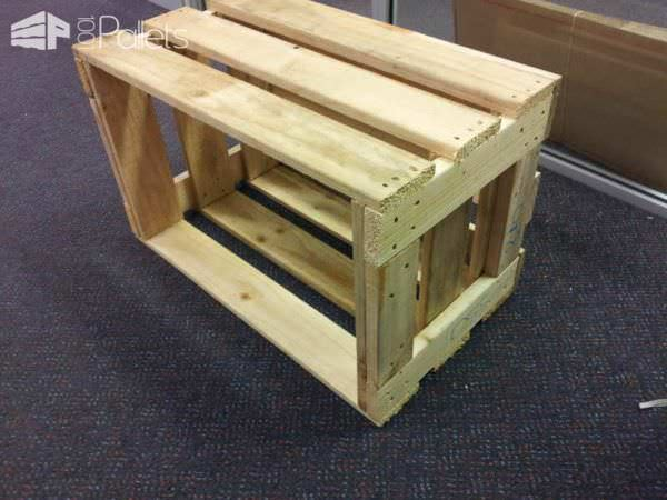 Crates From Upcycled Pallet Planks Pallet Boxes & Chests
