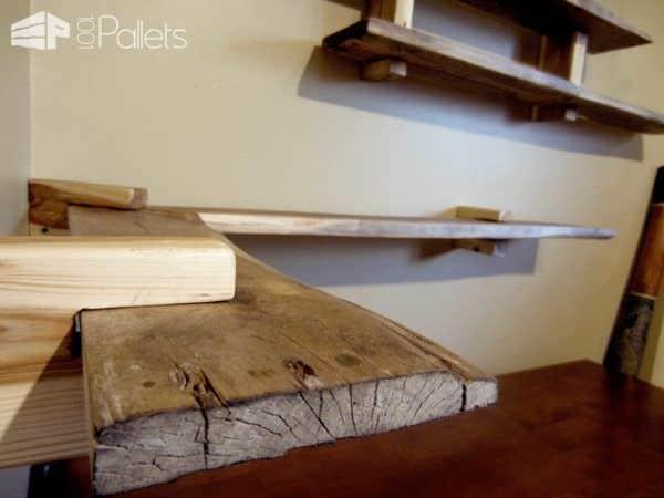 Pallet Shelves Pallet Shelves & Pallet Coat Hangers
