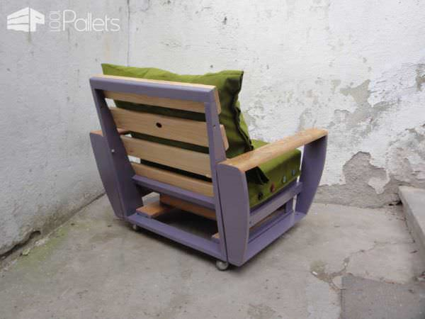 Custom Pallet Armchair Pallet Benches, Pallet Chairs & Stools