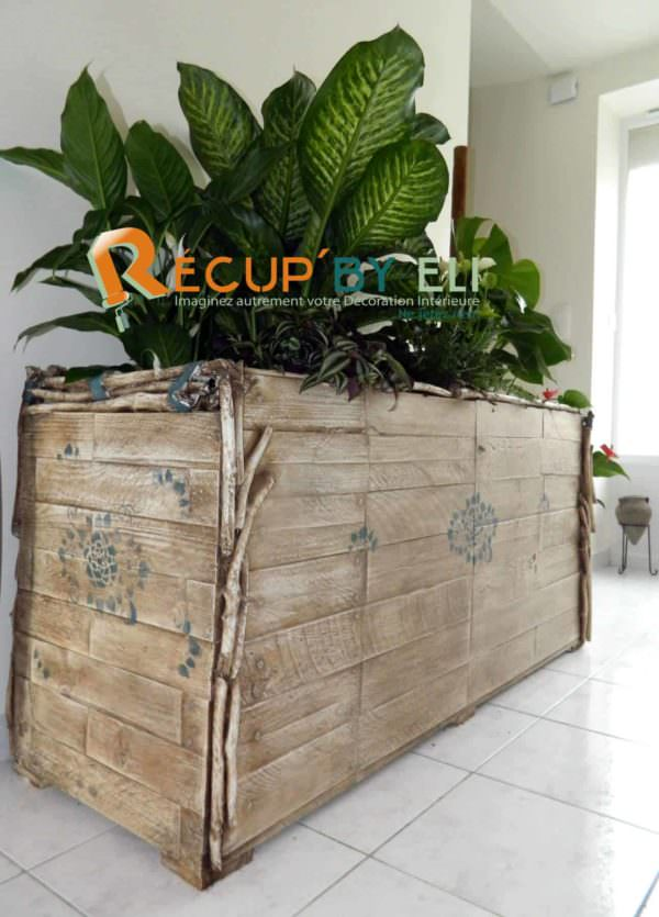 Flower Planter Box From Pallets Pallet Planters & Compost Bins