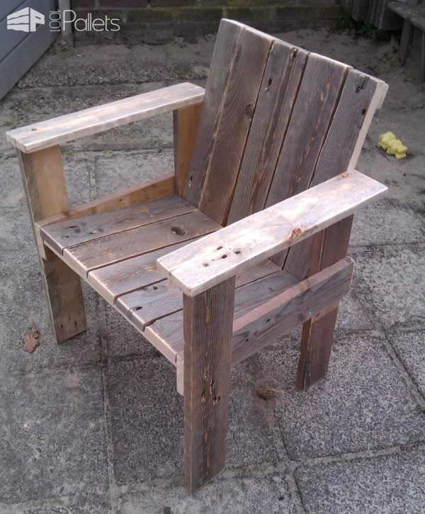 Little Child Pallet Chair Pallet Benches, Pallet Chairs & Stools