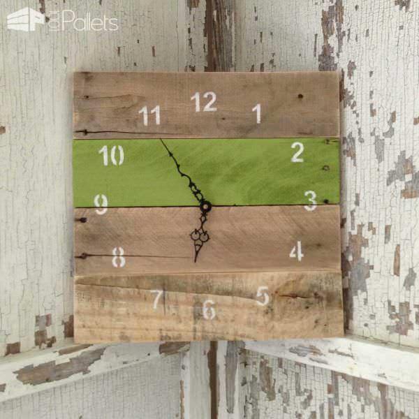Reclaimed Pallet Clocks Pallet Clocks