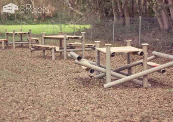 Ri-creazione Farm Edition: Pallets Recycling Lounges & Garden Sets