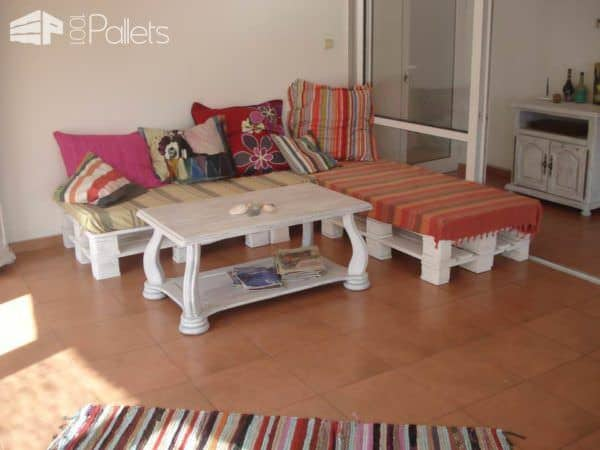 Just Another Upcycled Pallet Sofa Pallet Sofas & Couches