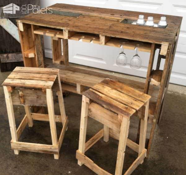 Pallet Dog Kennel & Bar Animal Pallet Houses & Pallet Supplies Pallet Desks & Pallet Tables