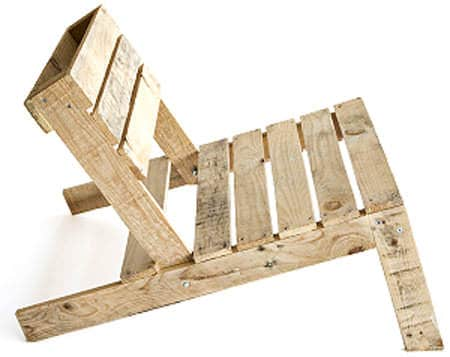Pallet Outdoor Chair Lounges & Garden Sets