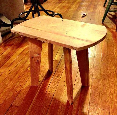 Pallet Side Table Pallet Desks & Pallet Tables