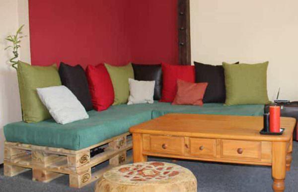 Repurposed Pallet Sofa Pallet Sofas & Couches
