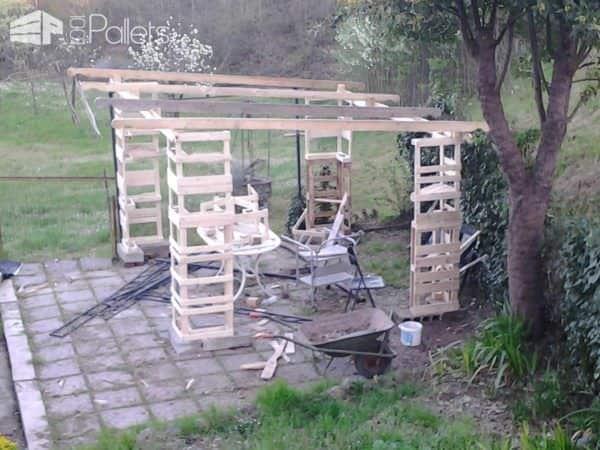 Gazebo – Pallet Shelter Pallet Sheds, Cabins, Huts & Playhouses