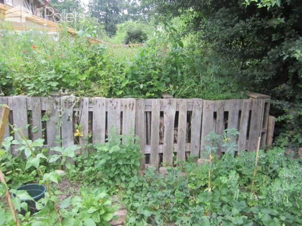 Raised Pallet Garden Pallets in the Garden