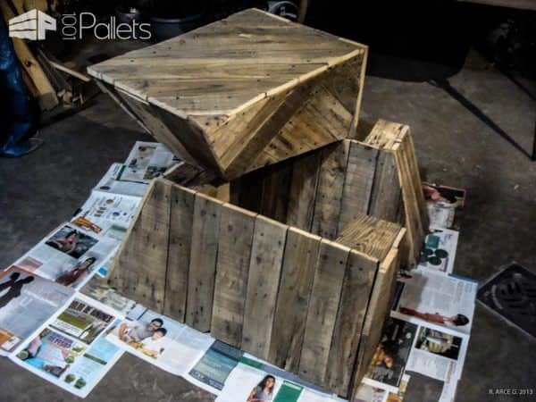 Reception Hall Stilo Creativo with Pallets Pallet Wall Decor & Pallet Painting