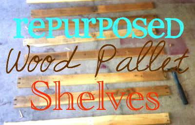 Repurposed Wood Pallet Shelves Pallet Shelves & Pallet Coat Hangers