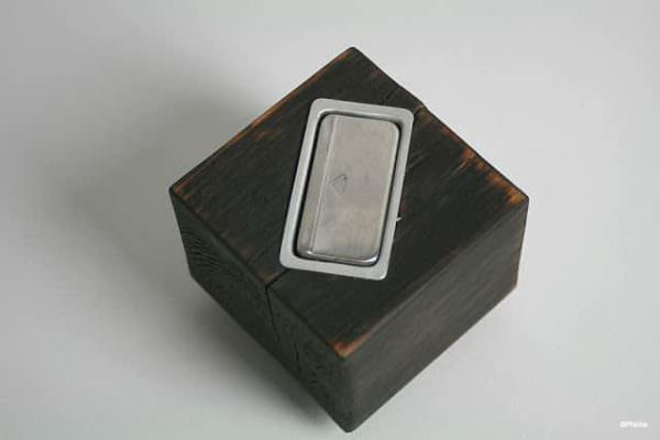 Ashtray Cube Made from Pallet Pallet Home Accessories