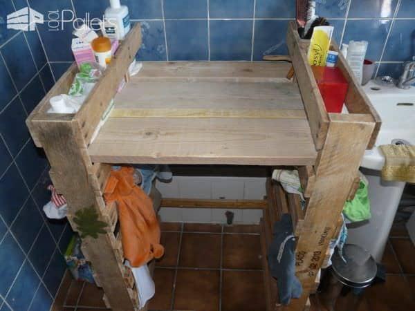 Diy: Pallet Changing Table Pallet Desks & Pallet Tables