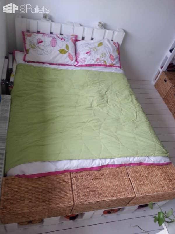 King Size Pallet Bed Pallet Beds, Pallet Headboards & Frames