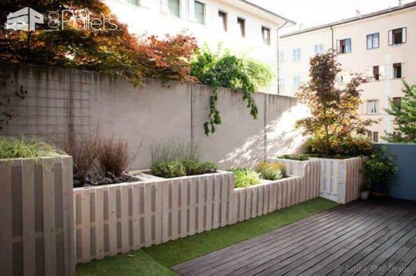 Modern Pallet Terrace Pallet Terraces & Pallet Patios