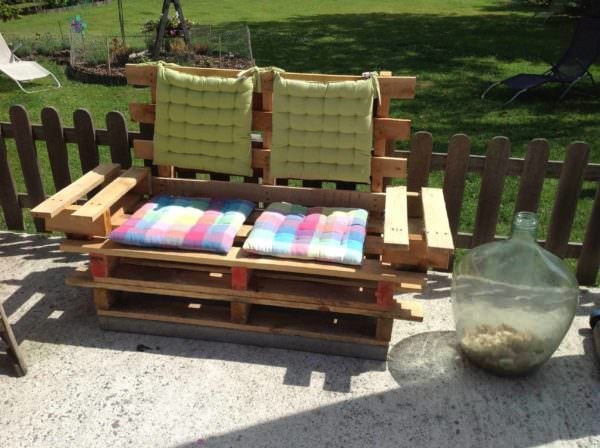 Outdoor Pallet Sofa Pallet Sofas & Couches