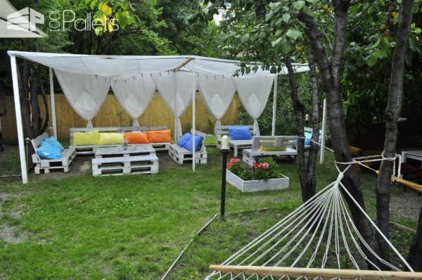 Pallet In The Garden: Planter + Bar + Sofa Pallet Planters & Compost Bins