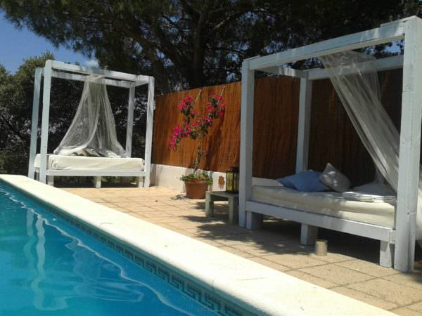 Luxury Pallet Sofas For Your Swimming Pool/Outdoor Lounges Pallet Sofas & Couches