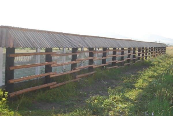 Pallets Fence Pallet Fences