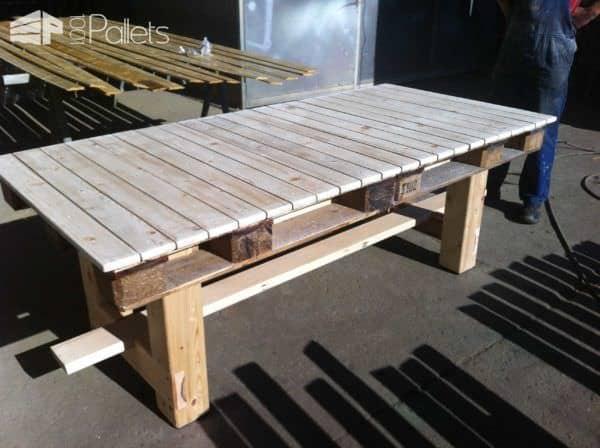 Amazing Pallet Table Pallet Desks & Pallet Tables