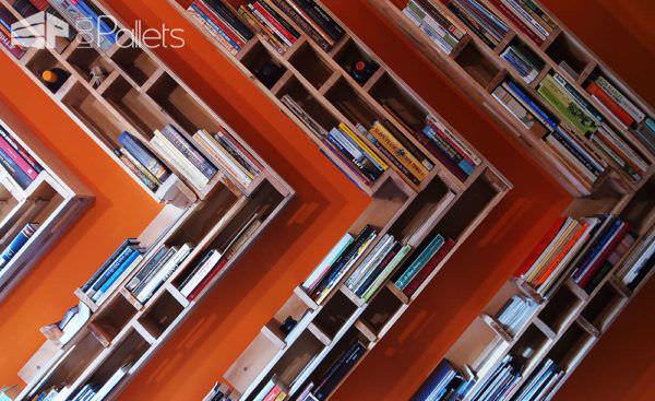 Dutch Pallet Design #2 Pallet Bookcases & Bookshelves Pallet Desks & Pallet Tables