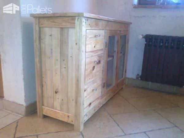 Pallet Cabinet Pallet Cabinets & Wardrobes