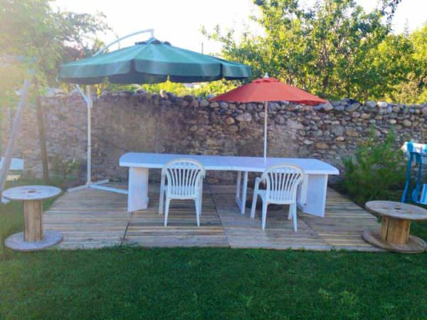 Pallets Terrace Pallet Terraces & Pallet Patios