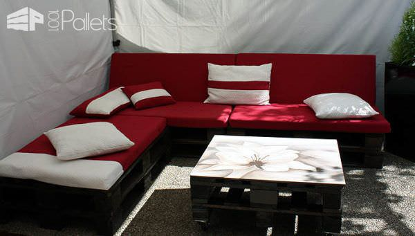 Garden Pallets Lounge / Canapé De Jardin Lounges & Garden Sets