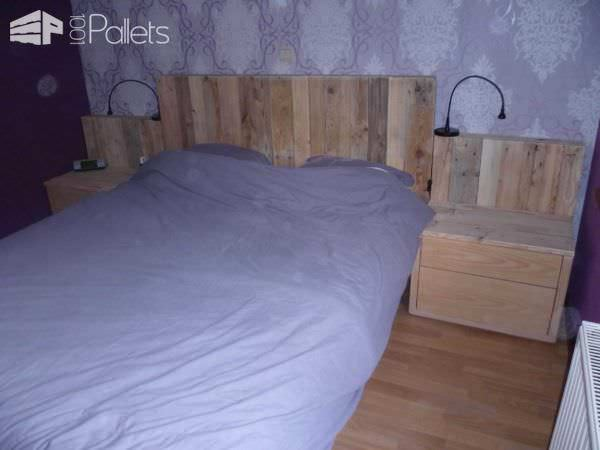 My New Pallets Bed Pallet Beds, Pallet Headboards & Frames
