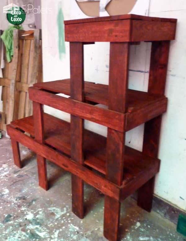 Palets & Cores / Pallets & Colors Pallet Furniture