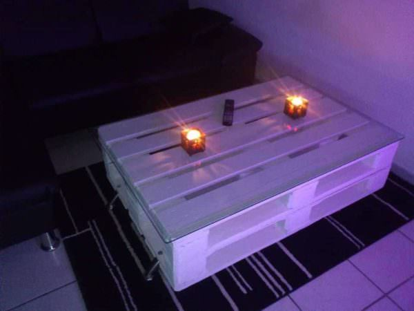 Pallet Coffee Table / Table Basse En Palettes Pallet Coffee Tables