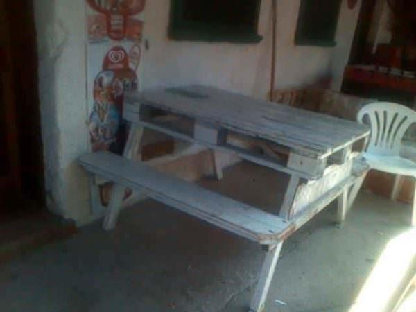 Pallet Picnic Table Pallet Desks & Pallet Tables