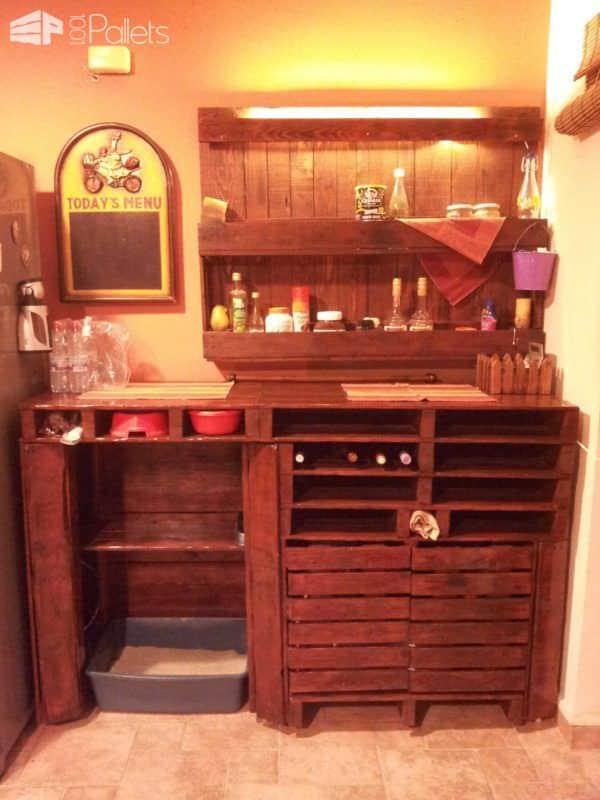 Pallet Wine Cellar, Bar & Shelf Pallet Boxes & Chests