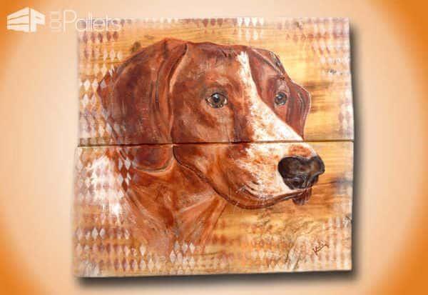 Peinture Sur Bois De Palette / Painting on Pallet Wood Pallet Wall Decor & Pallet Painting