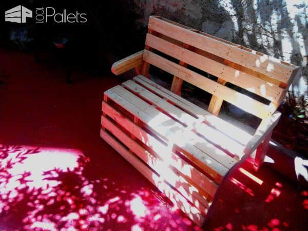 R & P, Almost B Couch…pallets Bench Pallet Benches, Pallet Chairs & Stools Pallets in the Garden