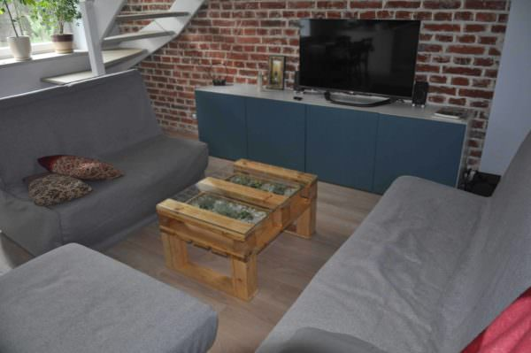 Simple Pallet Coffee Table Pallet Coffee Tables
